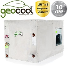 2 stage geothermal heat pump